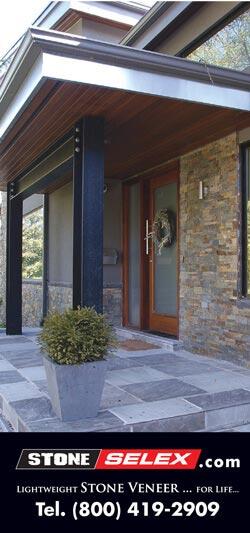Stone selex Exterior stone -veneer