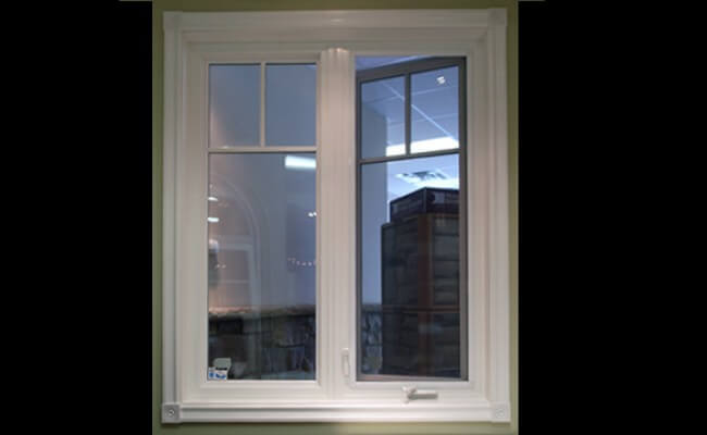 infinity windows casement window white